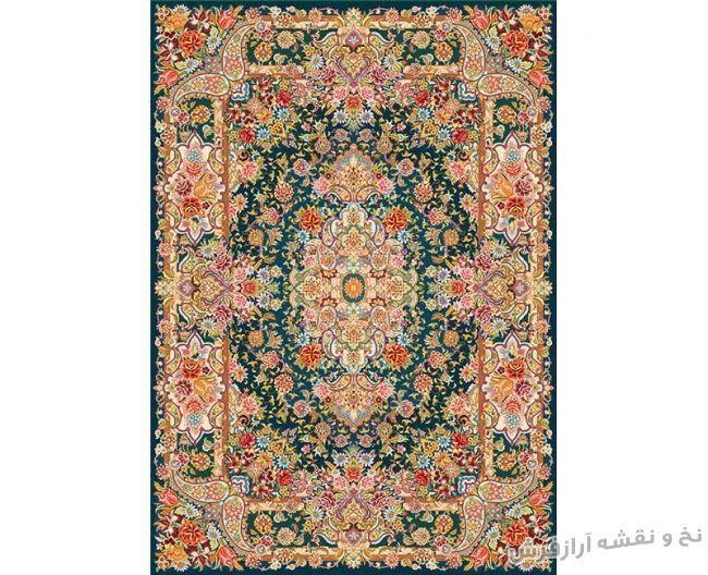 نخ و نقشه و مصالح بافت فرش و قالیچه سالاری - کد 629