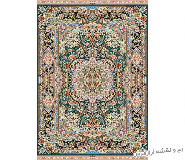 نخ و نقشه و مصالح آماده بافت فرش و قالیچه زیرپایی - کد 694