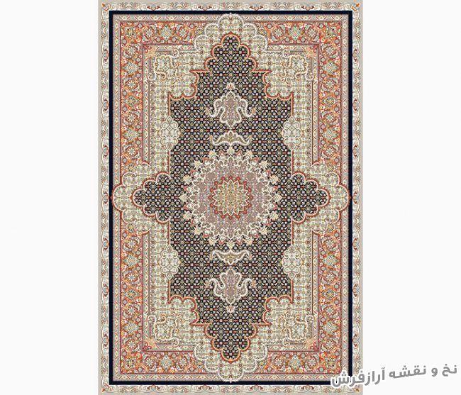 نخ و نقشه و مصالح بافت فرش و قالیچه دستباف زیرپایی - کد 802