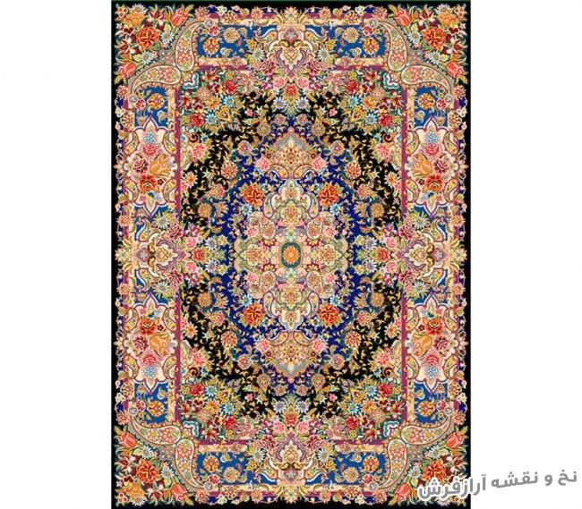 نخ و نقشه و لوازم بافت فرش قالیچه زیرپایی کد 712