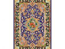 نخ و نقشه و مصالح بافت فرش و قالیچه زیرپایی کد 753